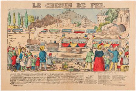 Le chemin de fer (image)