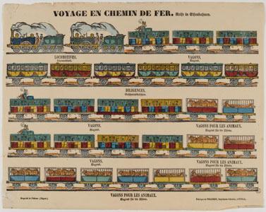 Voyage en chemin de fer (image)
