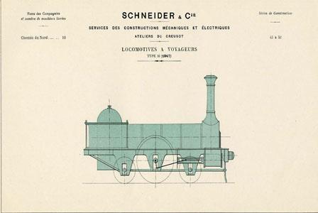 Locomotive à voyageurs type 16 (image)