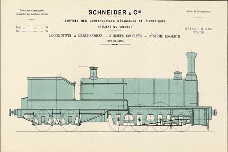 Locomotive à marchandises type 28 (image)