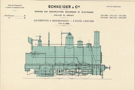 Locomotive à marchandises type 89 (image)