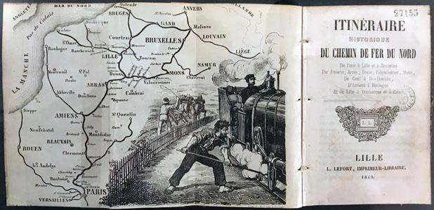 Itinéraire historique du Chemin de fer du nord, de Paris à Lille et Bruxelles (i