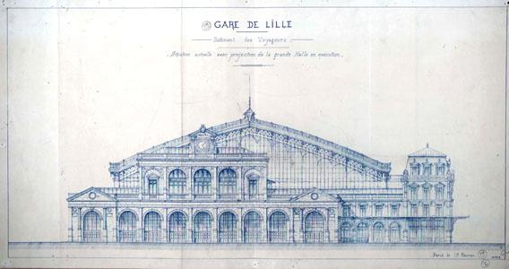 Gare de Lille, bâtiment des voyageurs (image)
