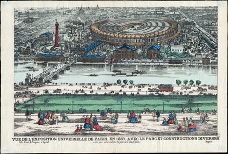 Vue de l'Exposition universelle de Paris, en 1867 (image)