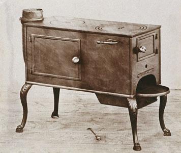 Un des premiers appareils fabriqués par la manufacture Godin-Lemaire à Esquéhéri