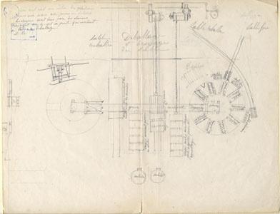 Étude d'une installation de moulage mécanique (image)