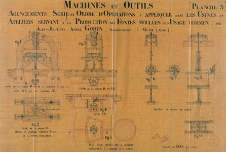 Machines et outils. Agencements, série et ordre d'opérations à appliquer dans le