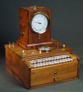 Télégraphe électrique à cadran et clavier système Froment (image)