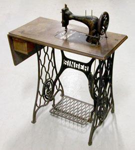 Machine à coudre Singer 28K (image)