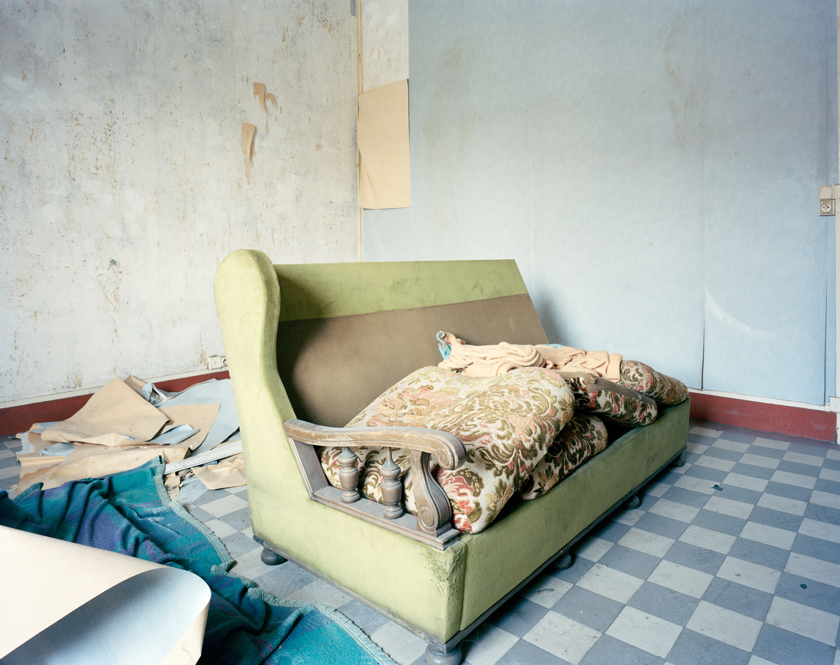 Aile gauche, Appartement n° 18, vendredi 15 mars 2013 (image)