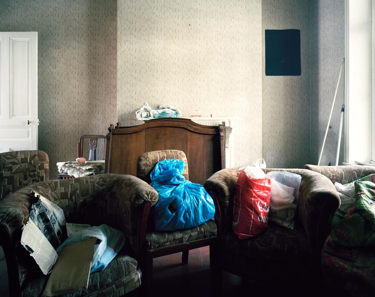 Aile gauche, Appartement n° 38, mardi 16 octobre 2012 (image)