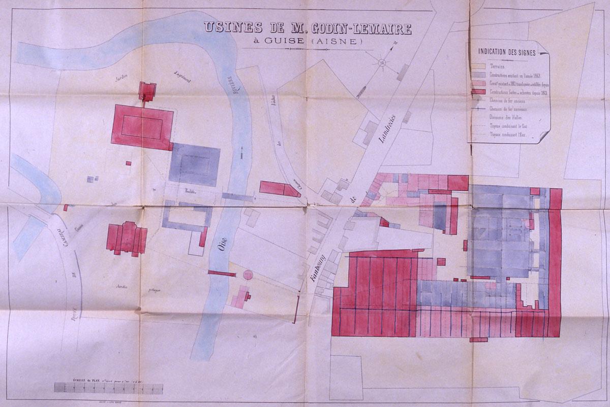 Plan du Palais social