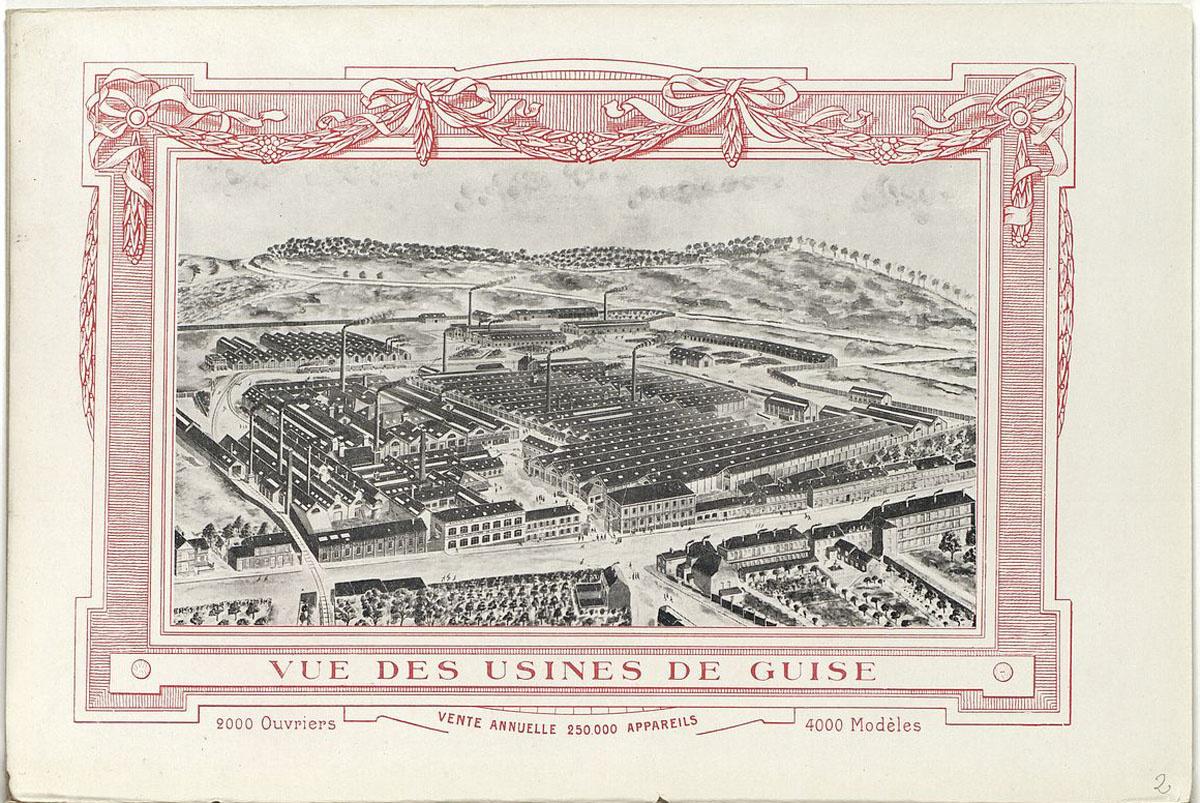 Vue des usines de Guise