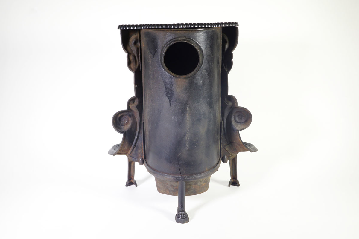 Vue de dos de la cheminée n° 40