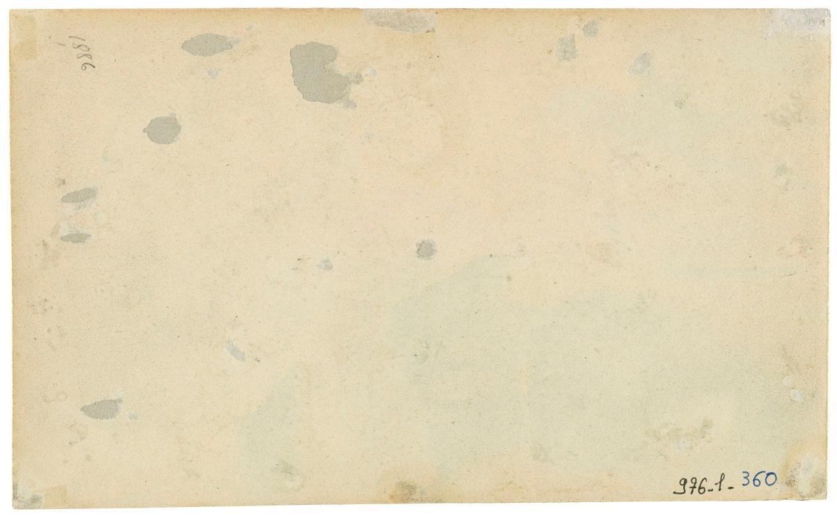 Verso du portrait du conseil de gérance en 1885.