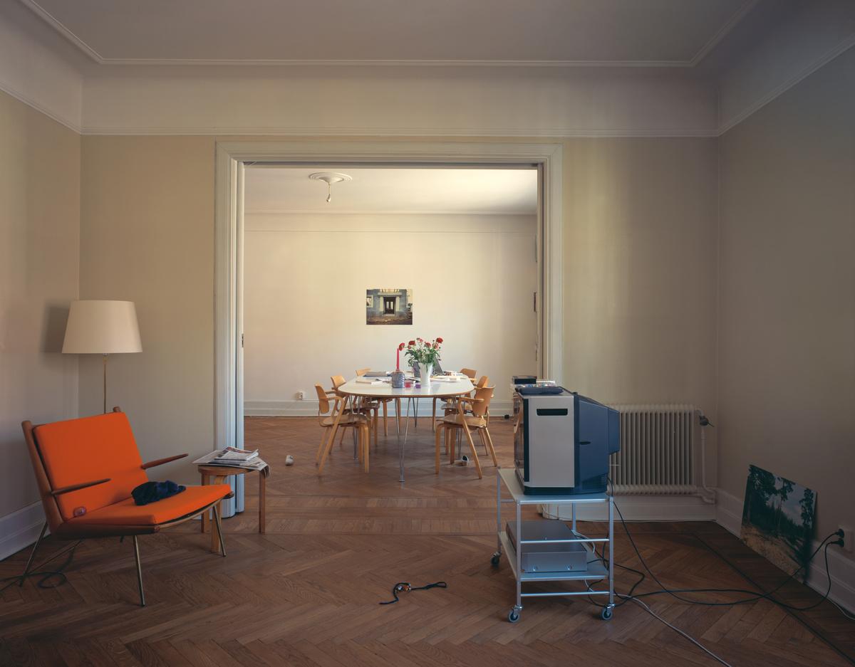 Vue d'un appartement