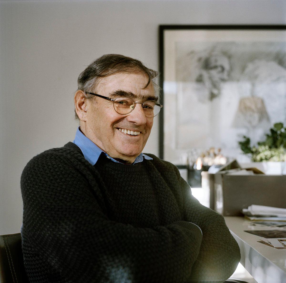 Portrait de Georges Fessy vue en buste de trois-quarts