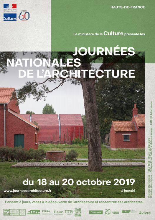 Affiche de la manifestation Journées nationales de l'architecture