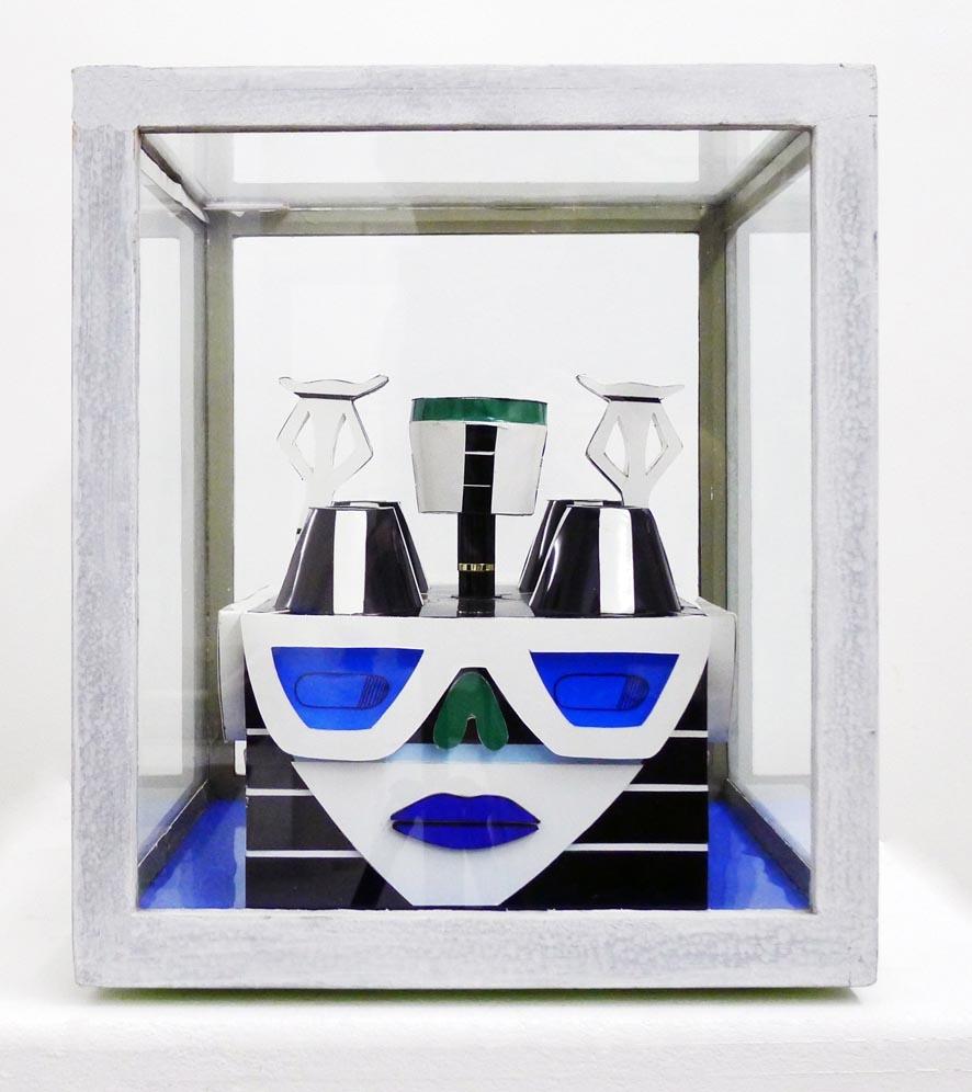 Vue de face de la sculpture Suzanne D'Amardaine