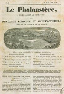 La réforme industrielle ou le Phalanstère (image)