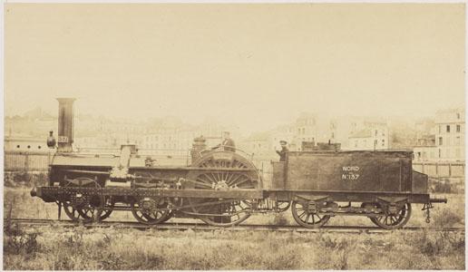 Locomotive du train impérial (image)