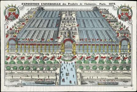 Exposition universelle des produits de l'industrie. Paris. 1878 (image)