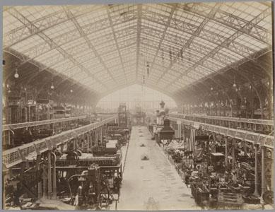 La Galerie des machines de l'Exposition universelle de Paris en 1889 (image)