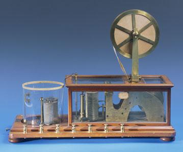 Télégraphe électrique type Morse à pointe sèche (image)