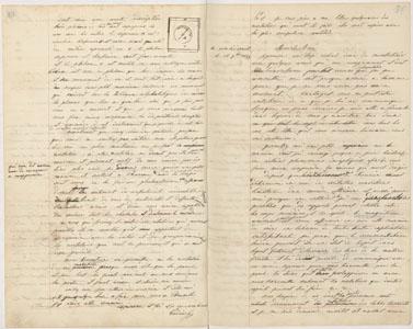 Lettre de Jean-Baptiste André Godin à Charles Brunier (image)
