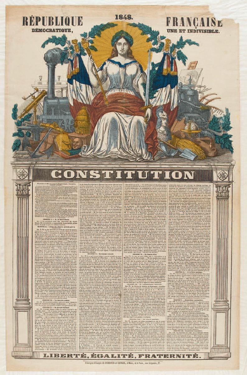 Constitution de la République française de 1848 (image)