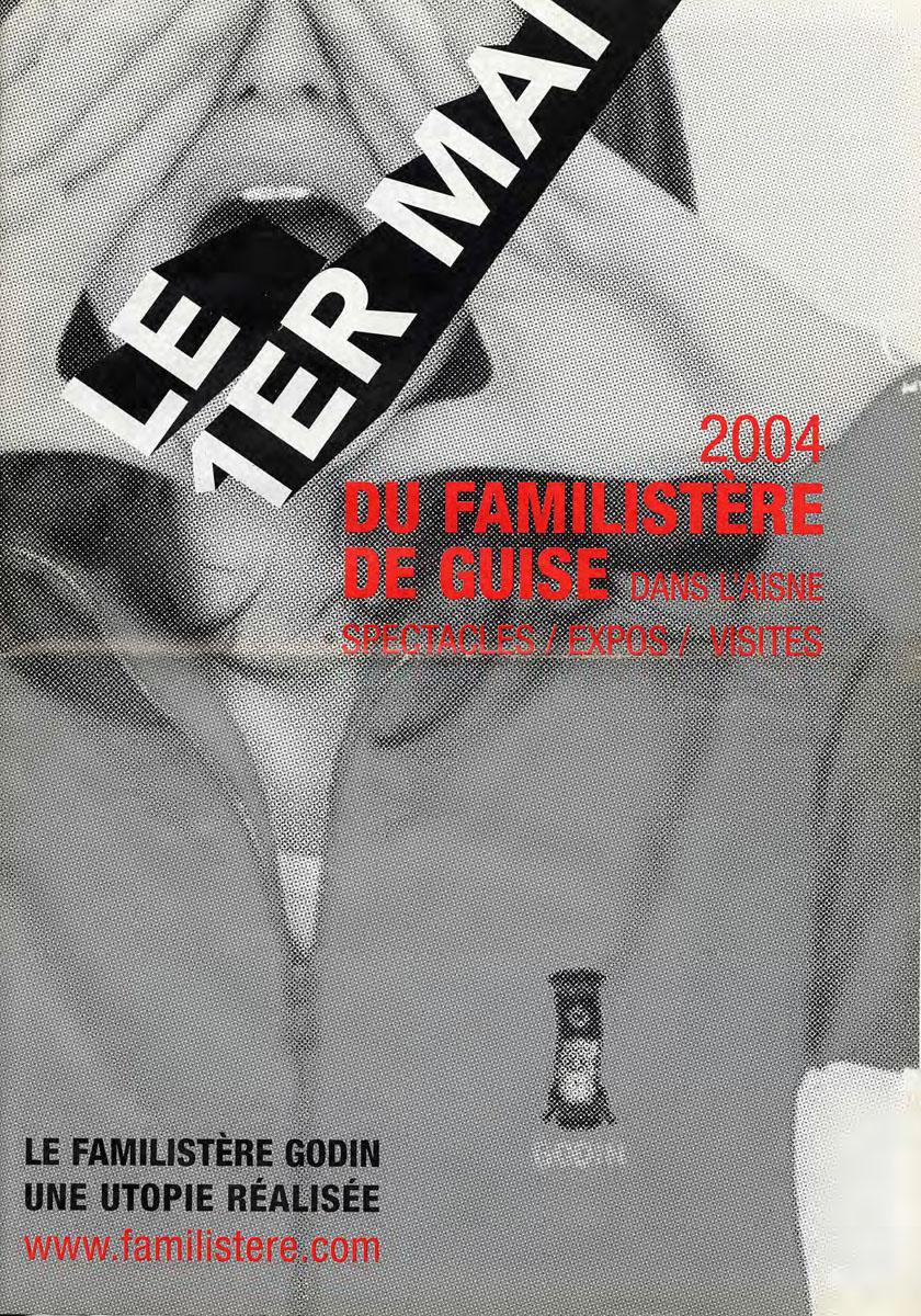 Programme du Premier Mai 2004 du Familistère