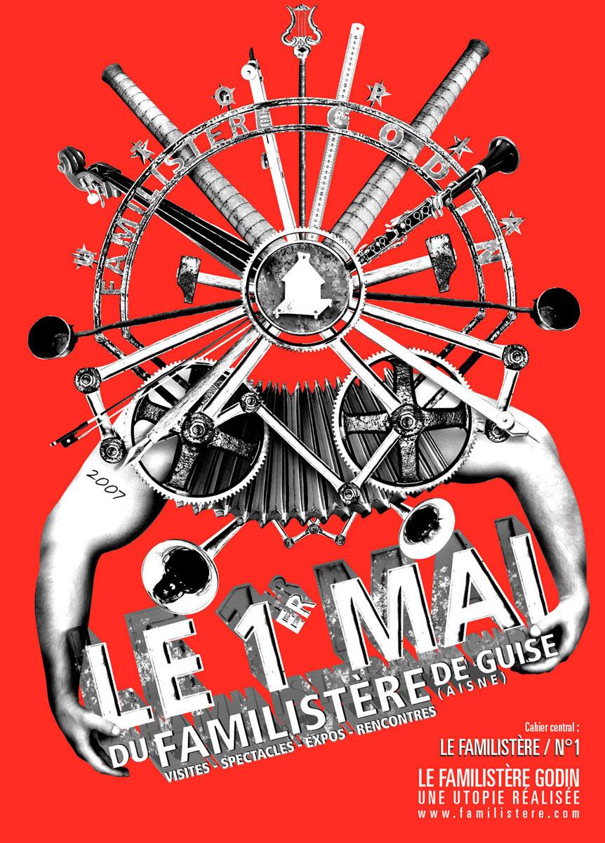 Programme du Premier Mai 2007 du Familistère
