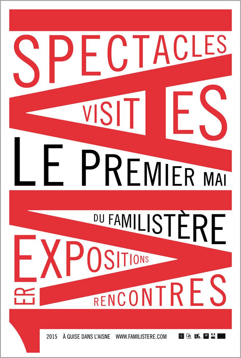 Programme du Premier Mai 2015 du Familistère.