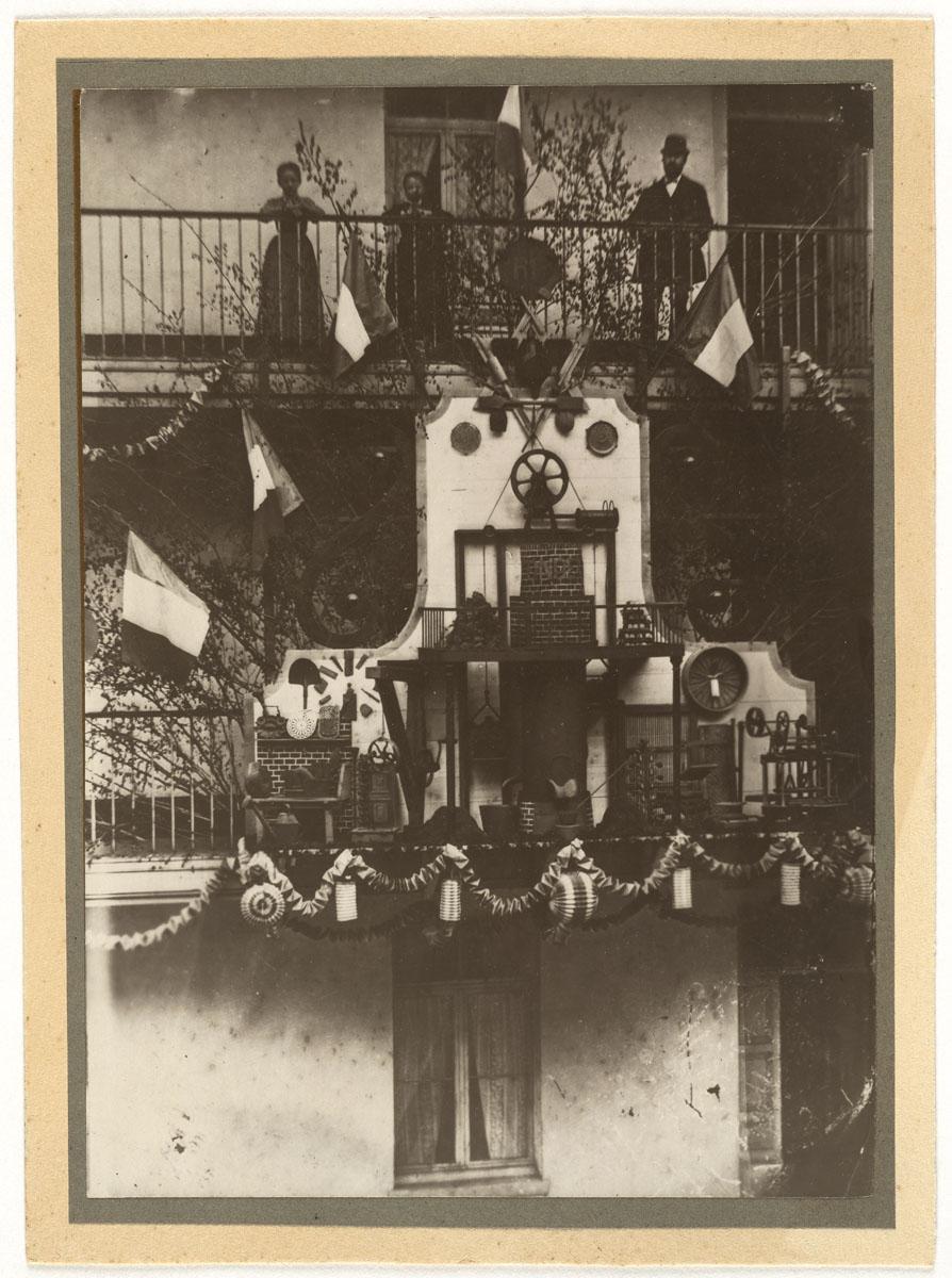 La photographie représente le trophée de la fonderie.