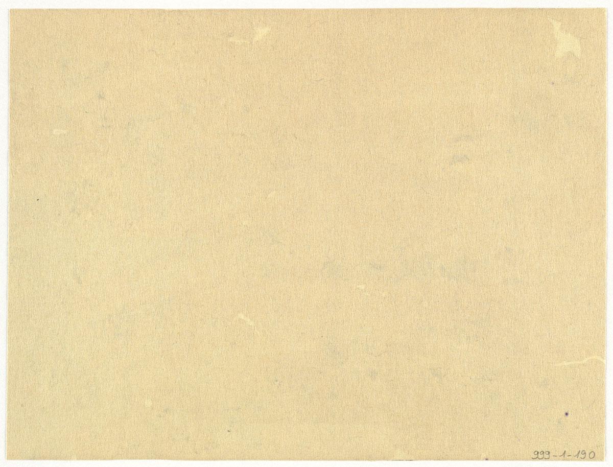 Verso de la photographie de l'inauguration de la statue de Godin.