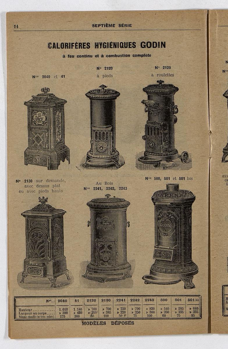 Vue d'une page de l'extrait de 1921 de l'album de reconstitution n° 2 montrant l