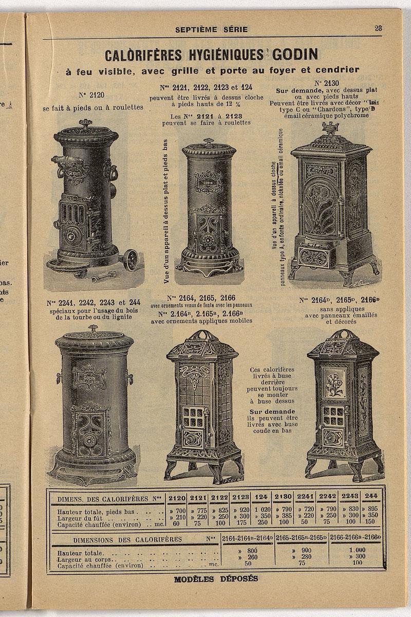 Vue d'une page de l'extrait de 1924 de l'album de reconstitution n° 3 montrant l