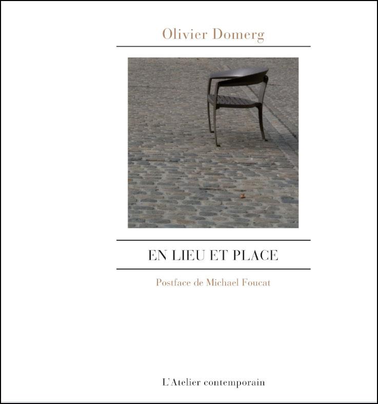 Couverture du livre d'Olivier Domerg