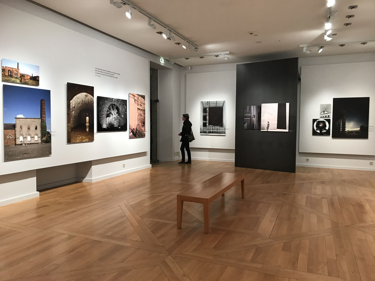 Vue d'une salle d'exposition