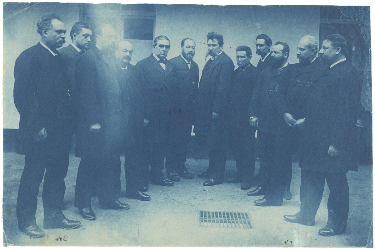 Portrait collectif du conseil de gérance.