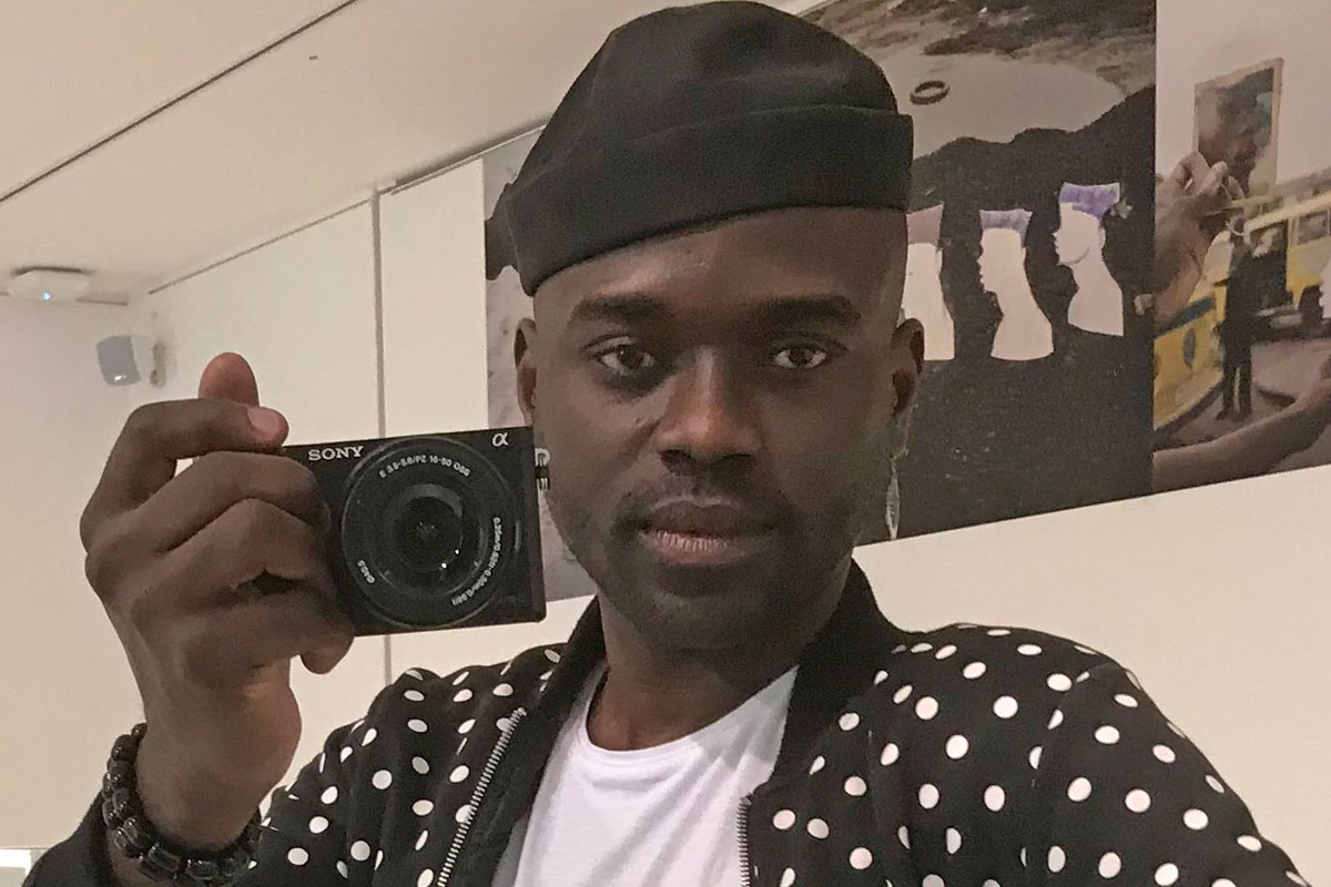Portrait d'Alain Nzuzi Polo