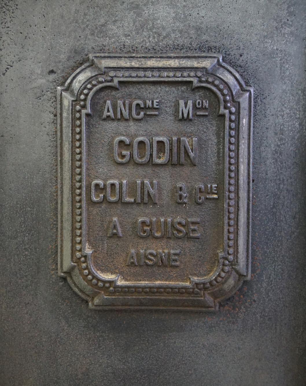 Vue d'un détail plaque cuisinière n°617 B